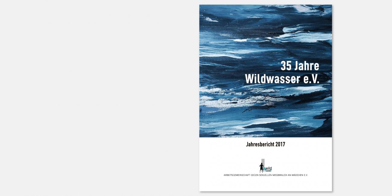 Wildwasser e.V. - Jahresbericht 2017 - Titelseite
