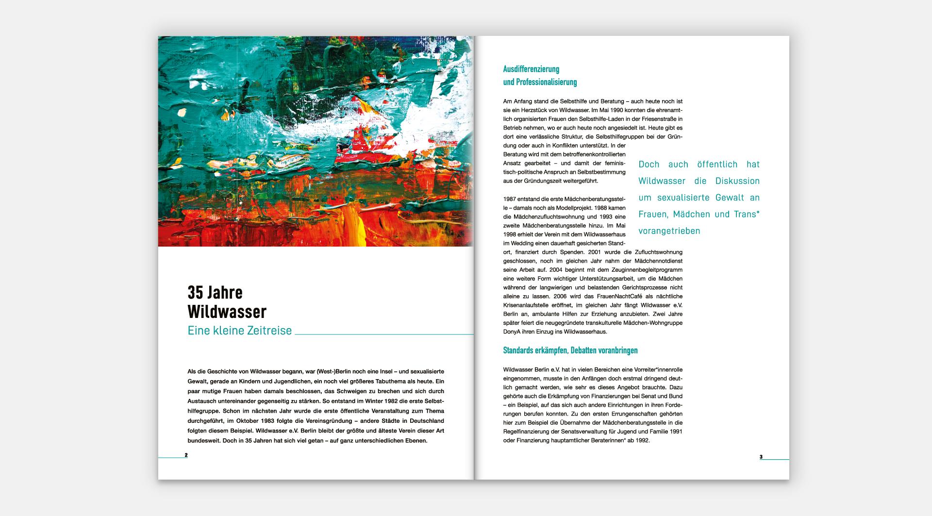 Wildwasser e. V. Jahresberichte 2017 - Seite 2-3